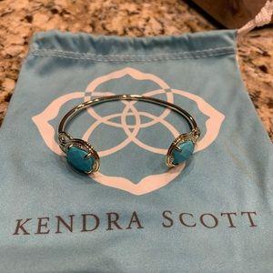 Kendra Scott turquoise gold bracelet